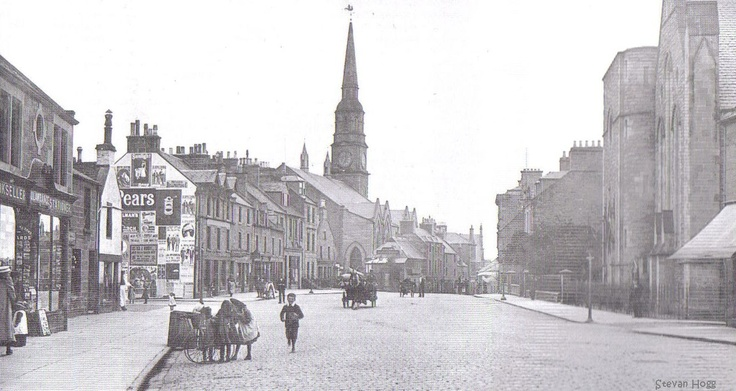 Forfar East High Street 1910