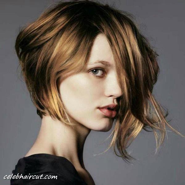 Asymmetrical Bob Haircuts 2014