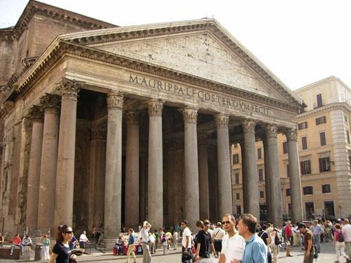 Panteón de Agripa. Roma (120 d JC)