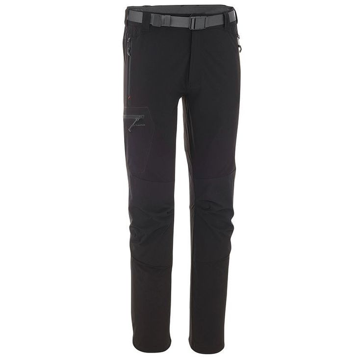 Trousers Hiking - Forclaz 500 Men's Walking Trousers - Black Quechua - Hiking Clothing and Accessories