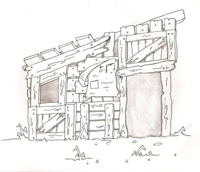 a sketch for hooverville