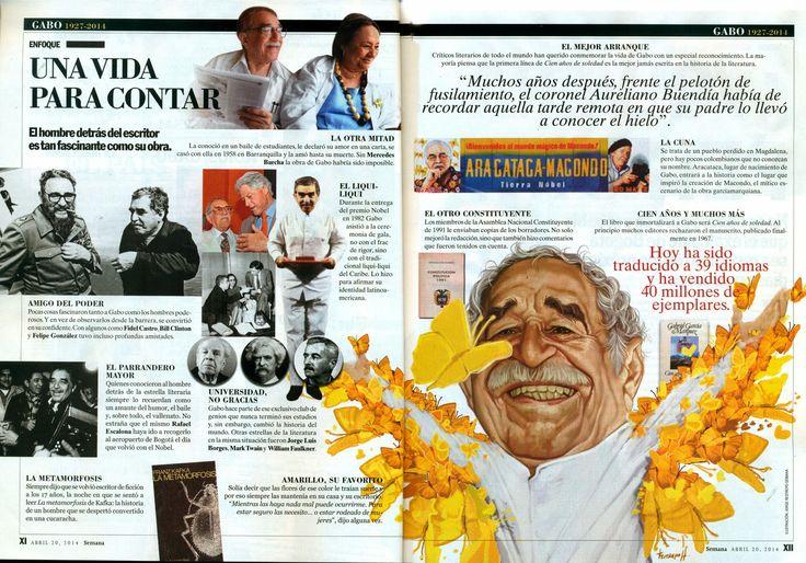 RESTREPO: Gabriel García Márquez. UNA VIDA PARA CONTARLA-Ilu...