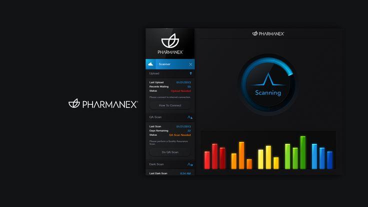 Pharmanex biophotonic scanner ui screen 1