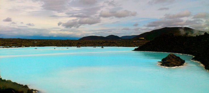 Blue Lagoon (mavi göl ya da mavi lagün) - Grindavik, İzlanda