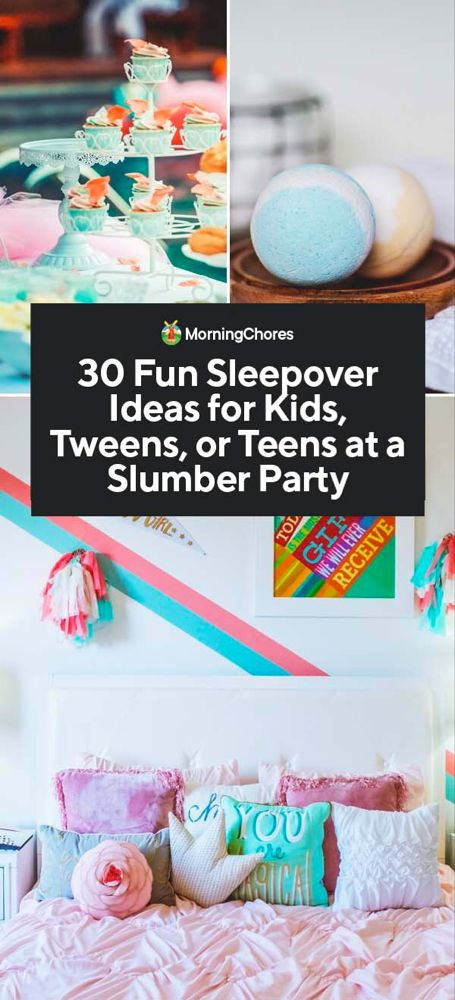 15 Slumber Party Games and Activities for Teen Girls: Best ...