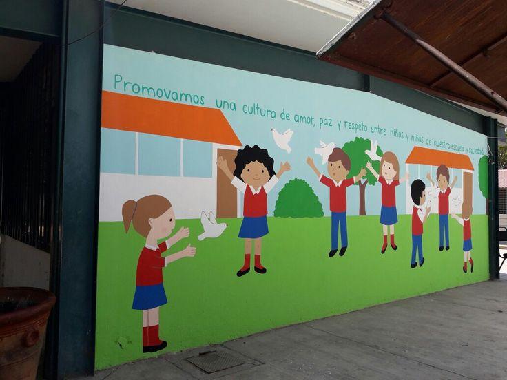 Murales infantiles en escuelas