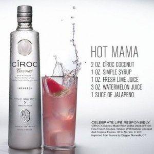 Hot Mama - Ciroc - Vixen Halloween Cocktails