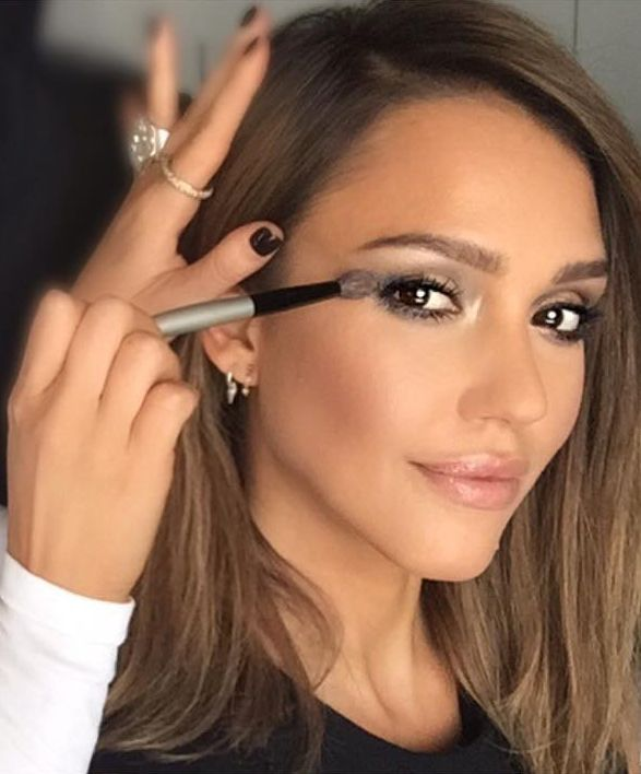 When Kim Kardashian's Makeup Artist Works With Jessica Alba, the Results Are Stunning
