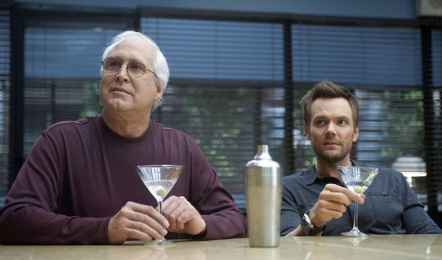 Joel McHale To Play Chevy Chase Upset Chevy Chase