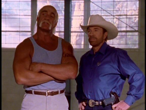 Hulk Hogan en Walker.