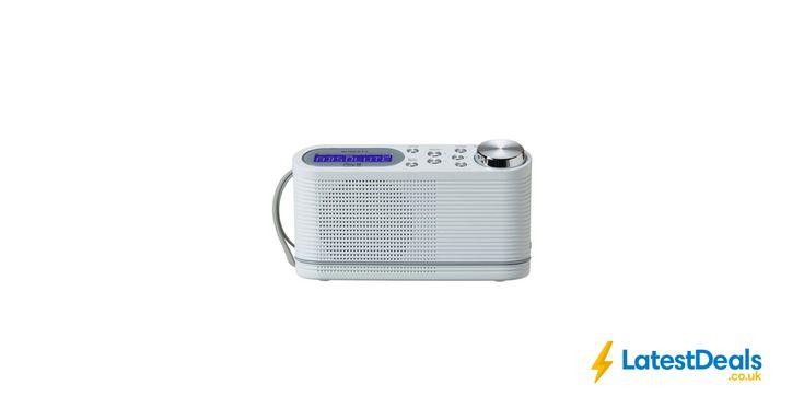 Roberts Radio Play 10 DAB Radio - White, £35.99 at Argos