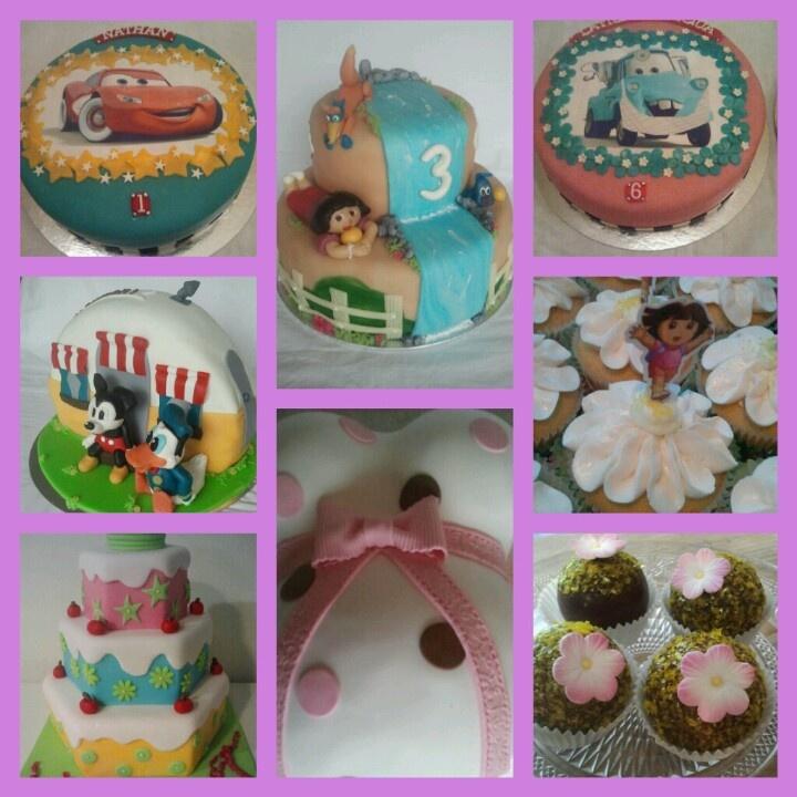 Laatst gemaakte taarten. Www.facebook.nl/gewoontaart