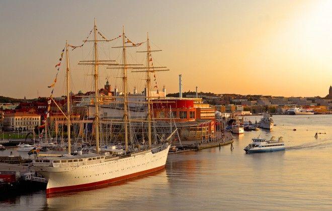 Gothenburg harbour, Sweden