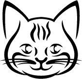 cat cross stich pattern