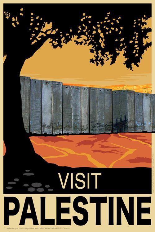 Visit Palestine - Shomali | The Palestine Poster Project Archives