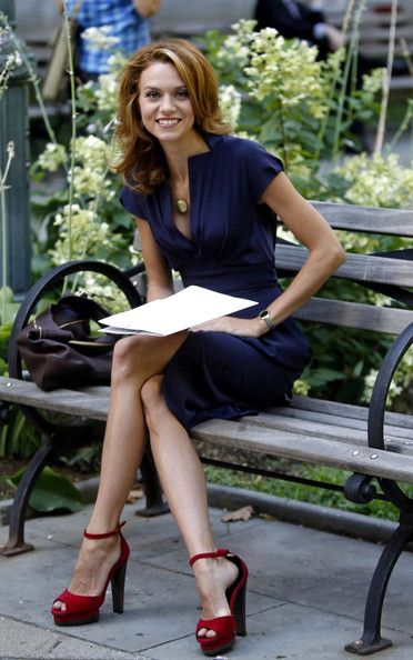 Hilarie Burton Photo - Hilarie Burton Films in Folie Square,