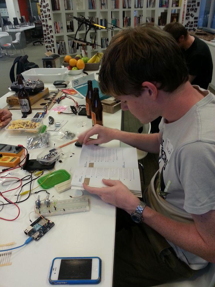 the arduino starter kit is very impressive