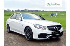 Mercedes E CLASS 5.5 E63 AMG S 4d AUTO 585 BHP