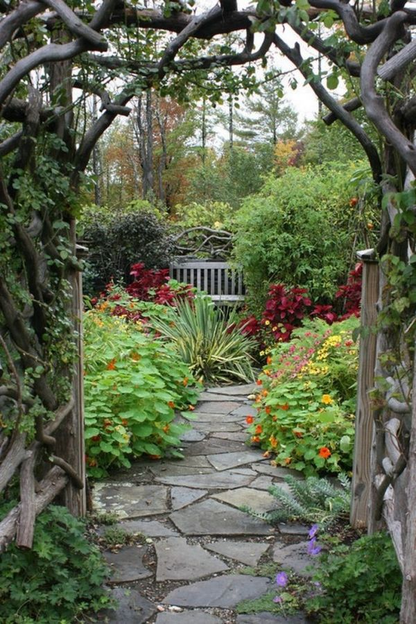 Create a Magical, Secret Garden | HGTV by leticia