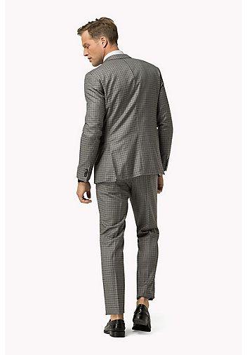 TOMMY HILFIGER Virgin Wool Slim Fit Suit - 018 - TOMMY HILFIGER  - detail image 1