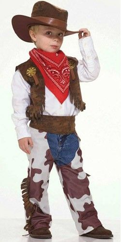 Fantasia de Cowboy Infantil Completa C/ Chapéu :: FantasiasCarol