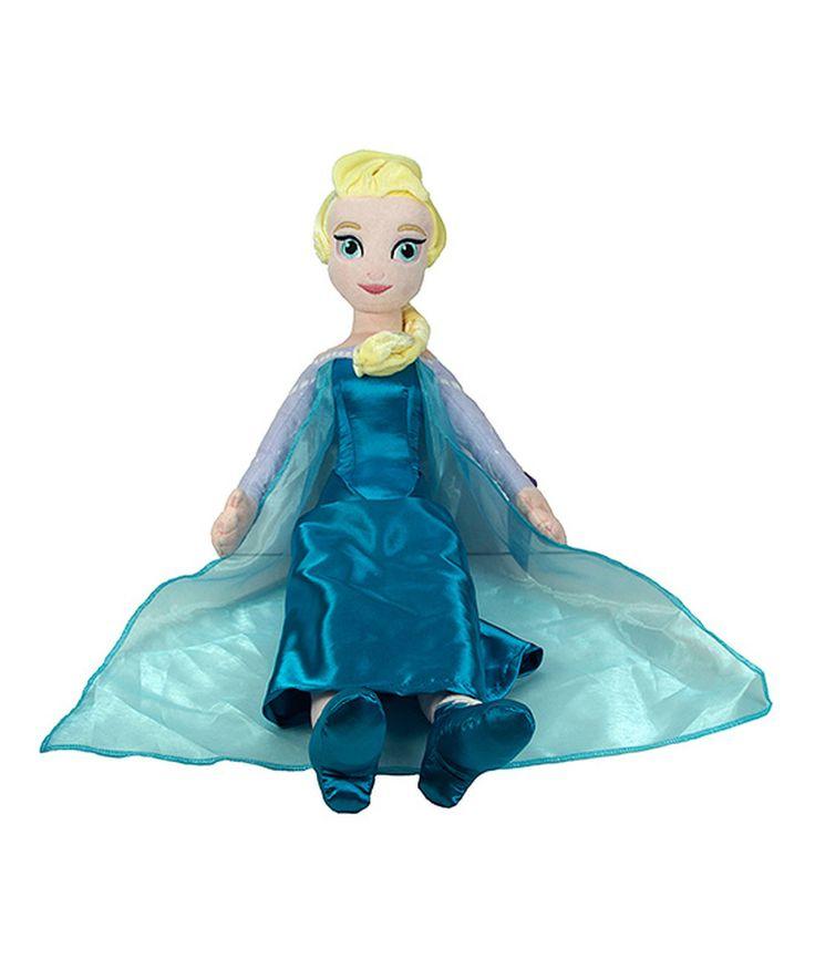 Another great find on #zulily! Frozen Elsa Pillowbuddy Plush Toy by Frozen #zulilyfinds