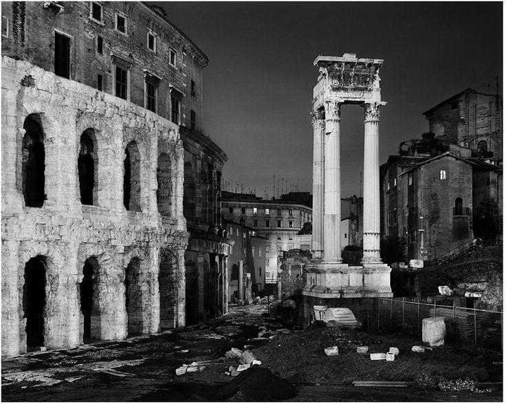 Rome, Teatro Marcello | ph. Luca Campigotto