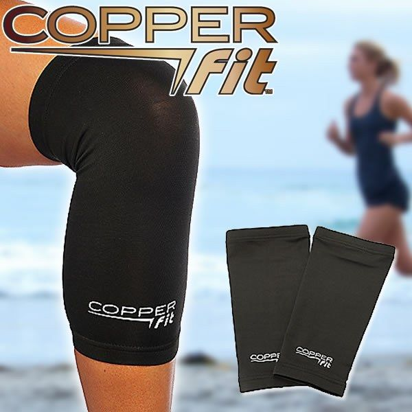 Copper Fit Knee Compression Sleeve for painful, stiff, sore and knees.