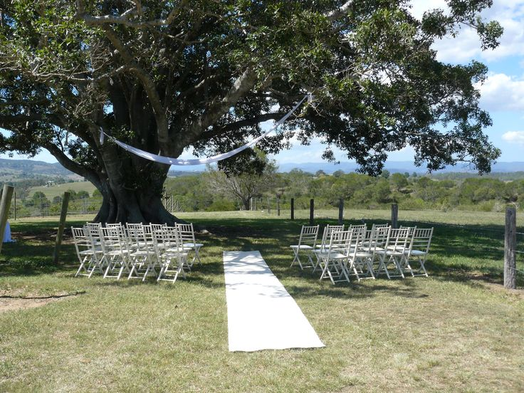 Vineyard Wedding Ceremony at Woodlands of Marburg Brisbane Celebrant Neal Foster The Marriage Celebrant performs weddings here.