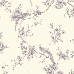Arthouse Chinoise Wallpaper - Plum