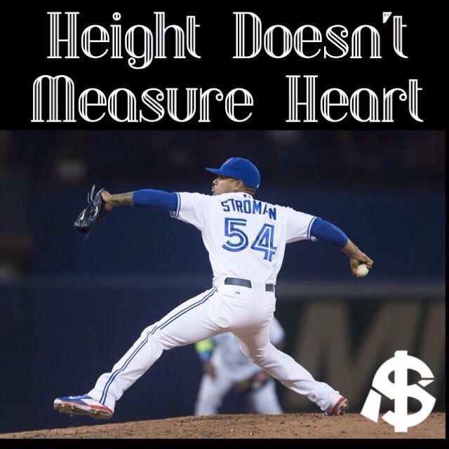 #HDMH Blue Jays Pitcher Marcus Stroman// he's wearing the wrong number!! Osuna is 54 and stroman is 6!!!