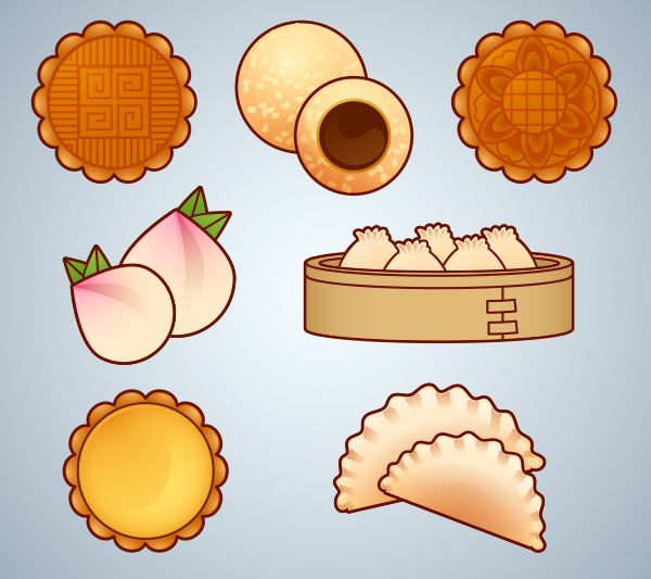 How to Create Mooncake and Dim Sum Icons for Chinese New Year in Adobe Illustrator