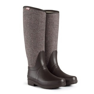 Regent St. James Tweed . Hunter Boots