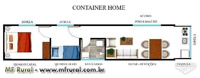 CONTAINER, CONTAINERS, CASA, LOJA ETC. em Curitiba PR Vender Comprar CONTAINER,