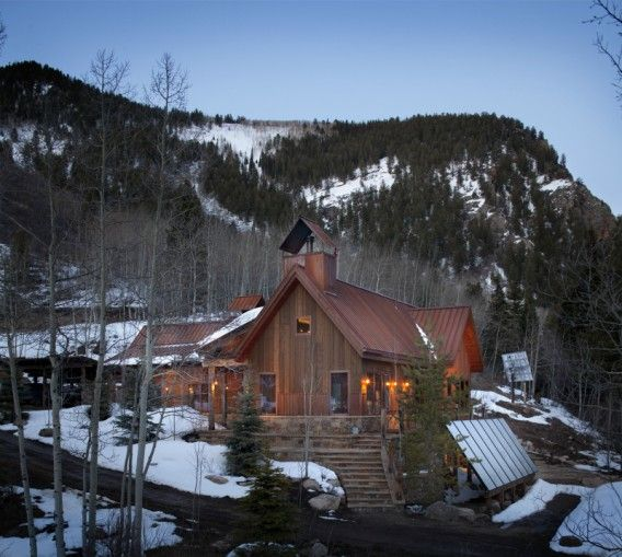 Off the grid home in CO.