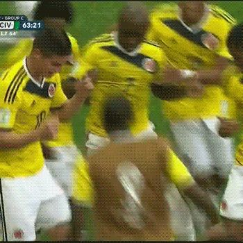 Best gifs of 2014 World Cup