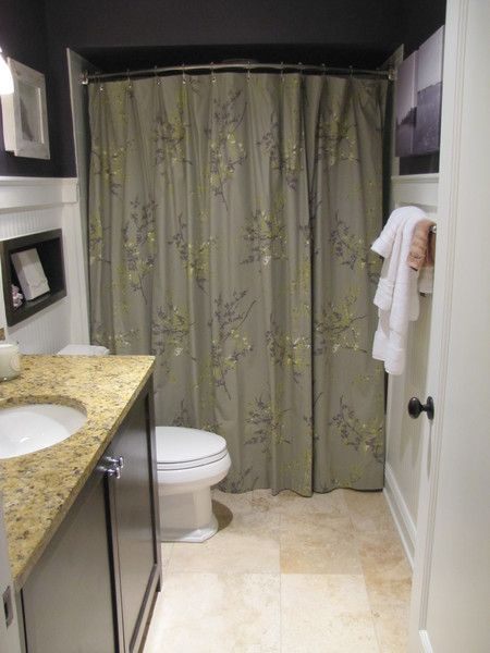 quick fix bathroom ideas expand shower space easily with a curved shower rod