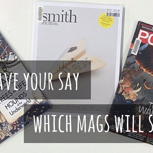 You asked! We Listened!  NEW MAGAZINES!!!!! The #arthurholtlibrary has chosen several mags that we think are a great addition to the collection. BUT before we subscribe we want to know if you would like these titles on the #shelves  #vote & have your say!  Mythology Magazine: Exploring #myths & #legends  Smith Magazine: #Frankie for #blokes  PC Power Play: Australia's best PC #gaming magazine  Should they stay or should thhey go? #trinitygrammar #librariesofinstagram #haveyoursay