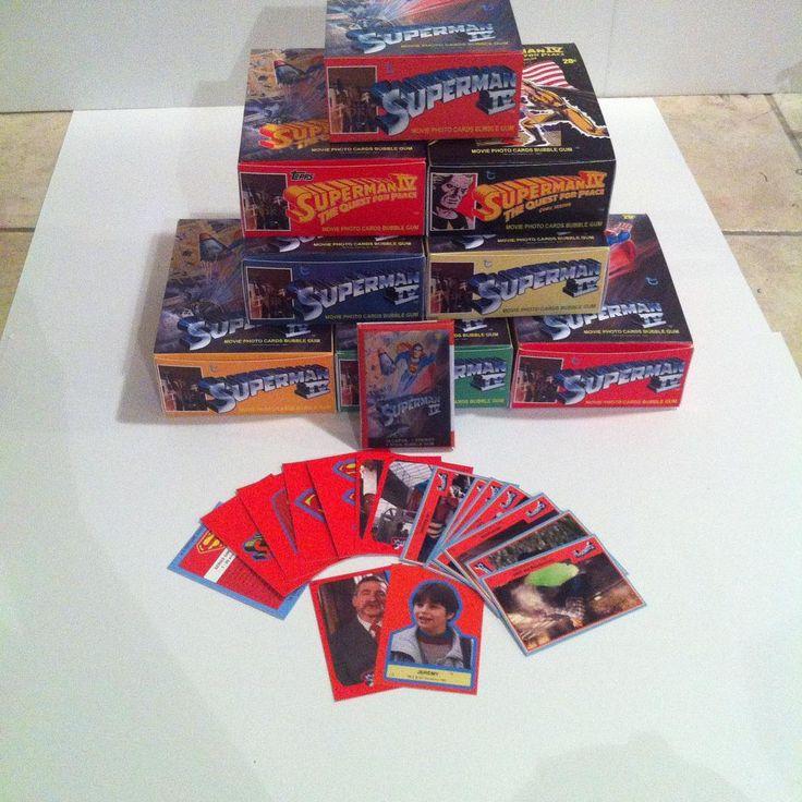 Custom Superman 4 movie cards boxes, wax packs, gum, cards and stickers. See whole series on my Facebook page. Link in profile #superman #superman4 #supermaniv #DCcomics #80smovies #waxpacks #christopherreeve #retromovies #retro #moviecards #art #artist