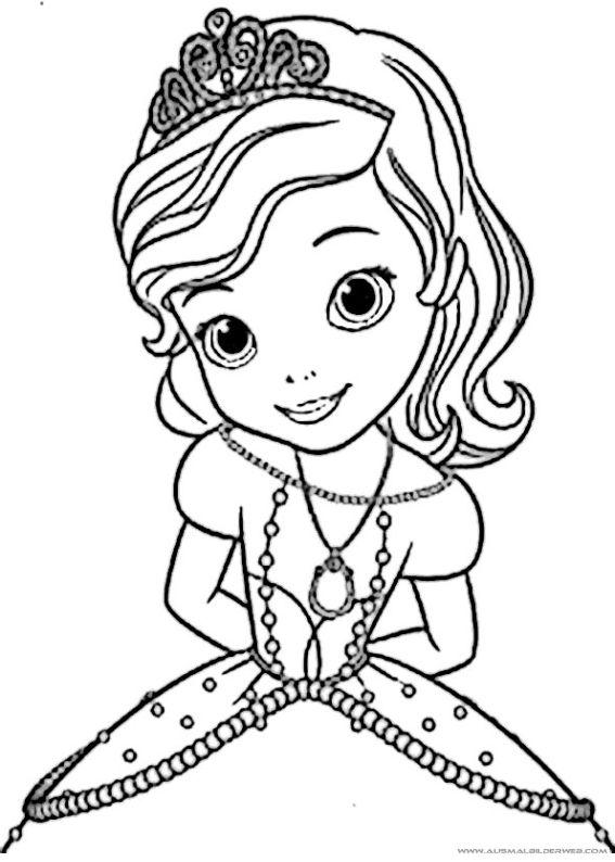 √ Ausmalbild Prinzessin Sophia Disegni di Sofia la