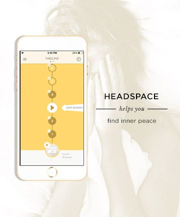 """The Meditation App That Will Cure Your Insomnia   The app: Headspace    What it does: Billed as a """"gym membership for the mind,"""" this app teaches the art of meditation in easy-to-follow lessons that last 10 minutes or less. The app comes with a 10-day program of nightly sessions, and listening to the soothing, lightly accented male narrator is almost as good as an Ambien.     Cost: The app is free to download and includes a 10-day program with signup"""