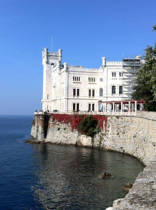 Castello di Miramare in Trieste, Friuli Venezia Giulia