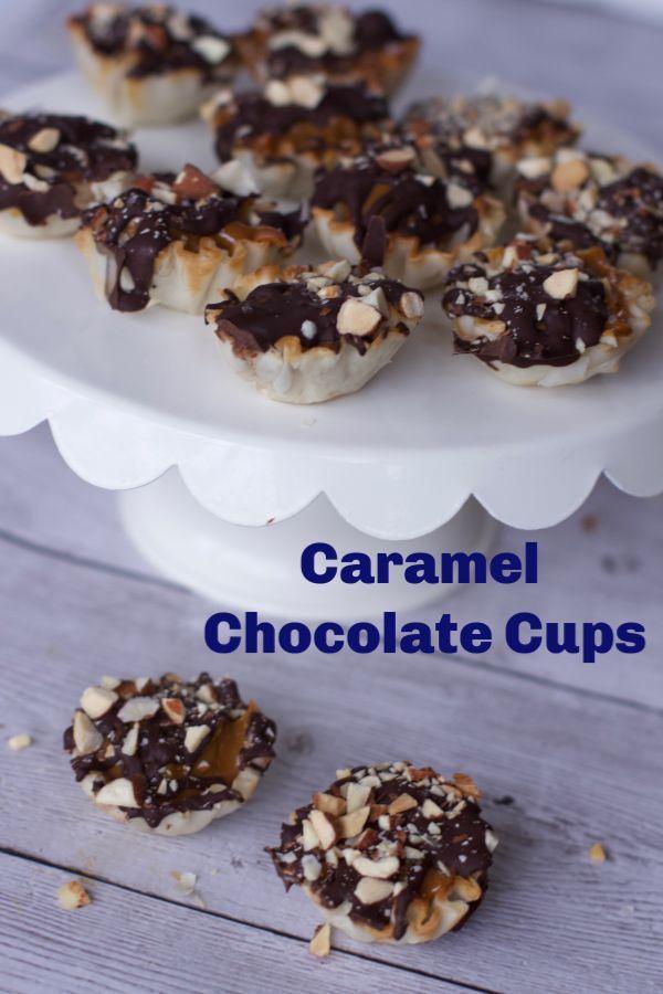 Caramel Chocolate Tartlet Recipe Yummy Blogger Recipes