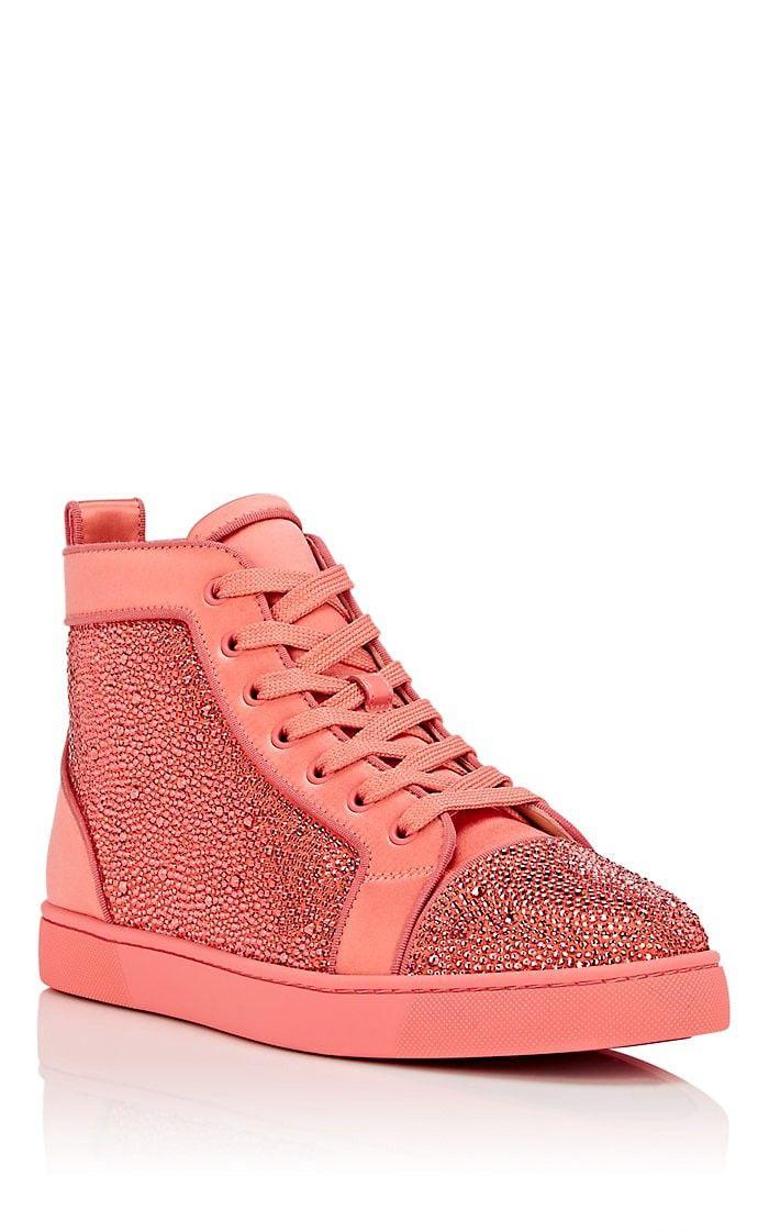 ebe70a99b009 Men s Louis Orlato Flat Satin Sneakers by Christian Louboutin ...