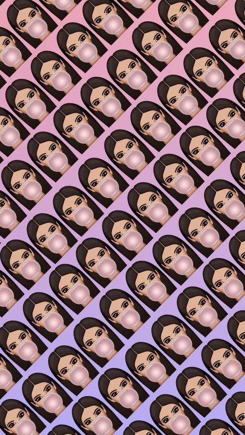 Imagem de wallpaper, kim kardashian, and kimoji