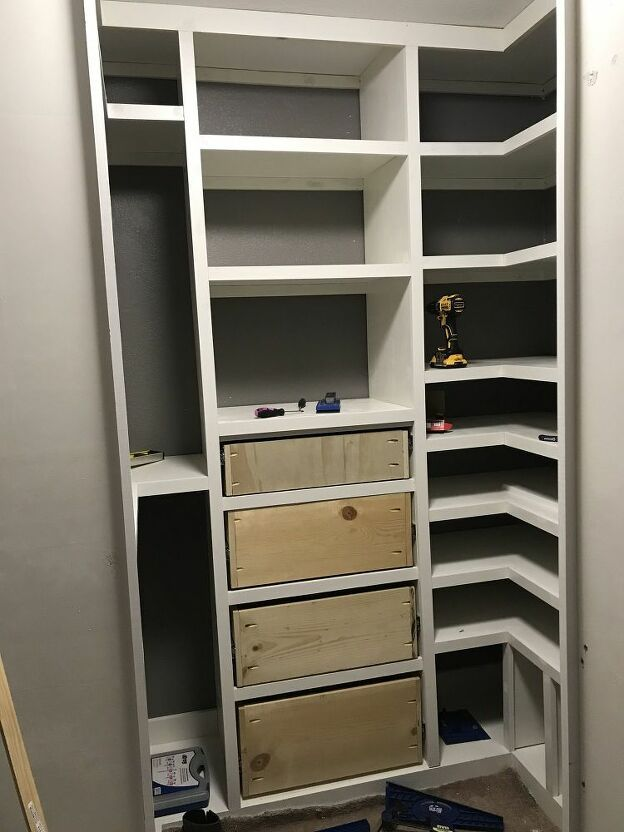 How To Build A Diy Closet Organizer With Built In Storage Closet Organization Diy Build A Closet Closet Makeover