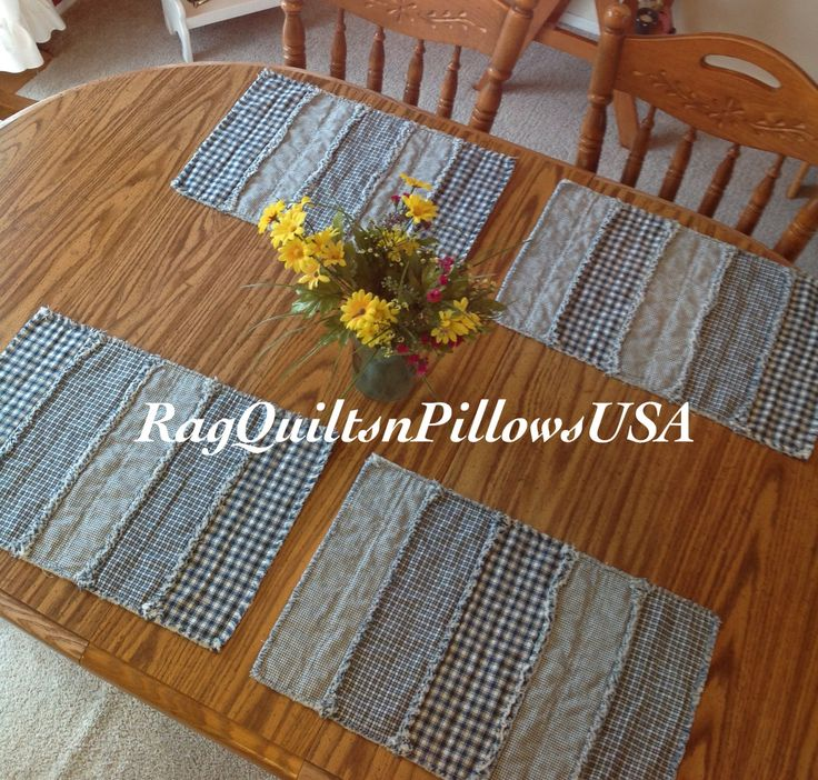 25 unique Rustic placemats ideas on Pinterest DIY  : 3e7d8daadaa4eae1ed0695efef800351 farmhouse placemats blue tables from www.pinterest.com size 736 x 702 jpeg 134kB