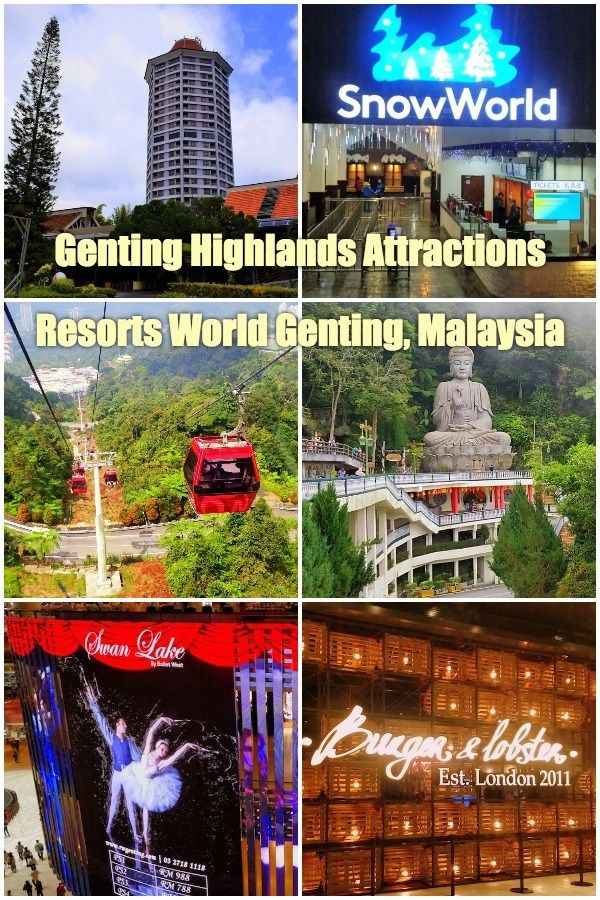 Genting Highlands Attractions - Resorts World Genting ...