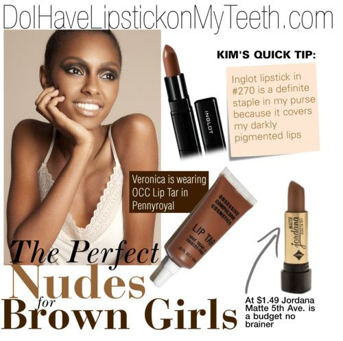 Great nude lip colors for African American brides. Kim White of Do I have lipstick on my teeth has great style and talent