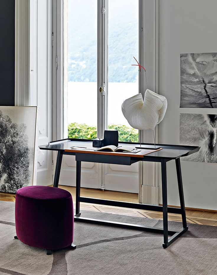 Writing Desk: RECIPIO - Collection: Maxalto - Design: Antonio Citterio